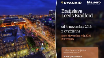 Ryanair launches new BTS - Leeds Bradford route