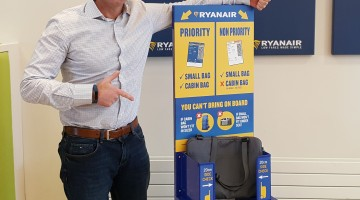 f9efa20e60448 Začínajú platiť nové pravidlá Ryanairu o preprave batožiny | Letisko ...