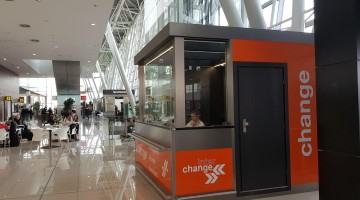Interchange opens a new foreign exchange office at Bratislava Airport